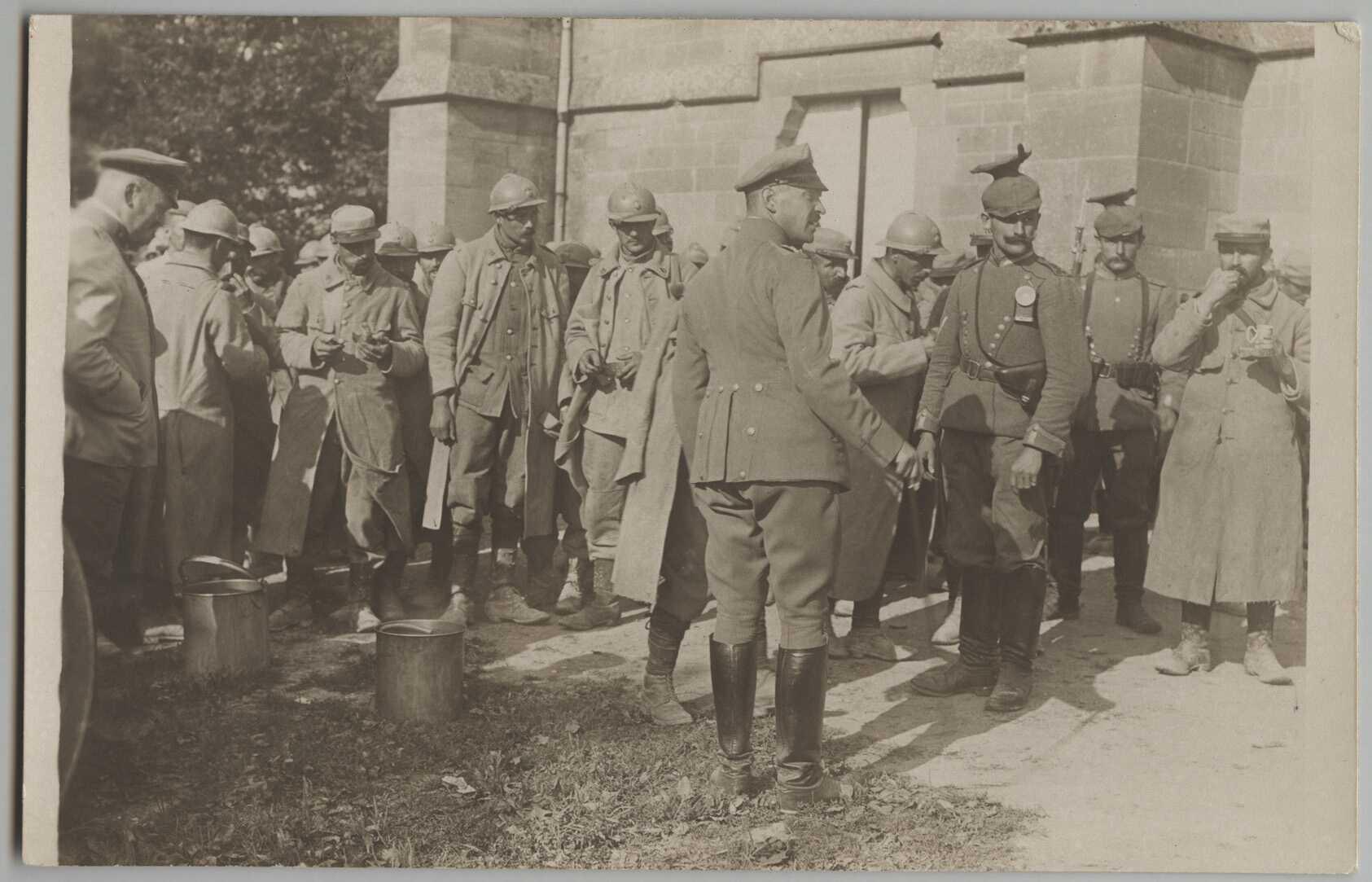 GEFANGEN - ARGONNEN 1916
