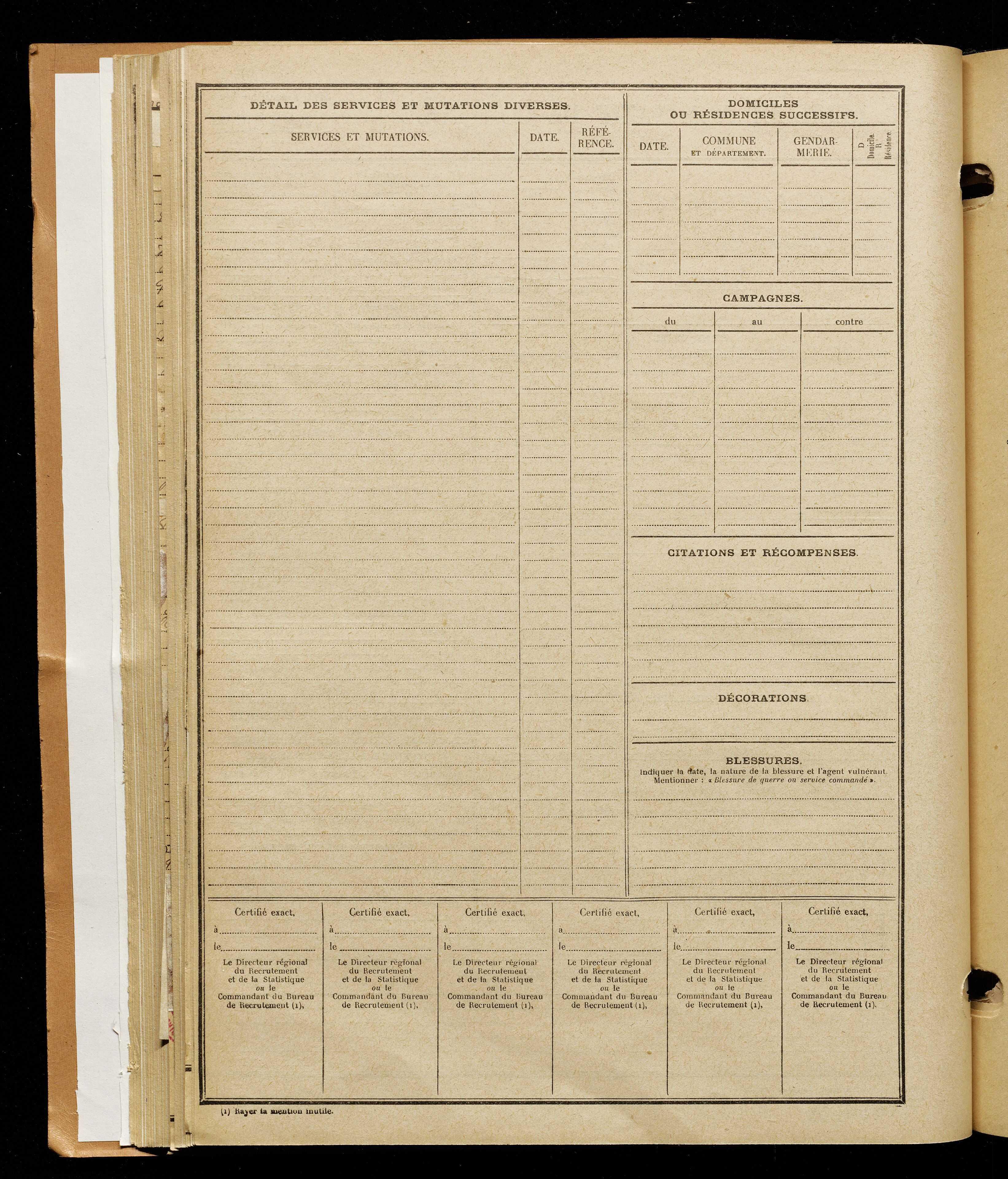 Dejeuffosse, Marcel Louis, né le 15 mai 1893 à Cambrai (Nord), classe 1913, matricule n° 1102, Bureau de recrutement d'Amiens