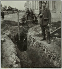 HOLZMINDER POW CAMP 1918 AFTER ESCAPE TUNNEL DISCOVERED
