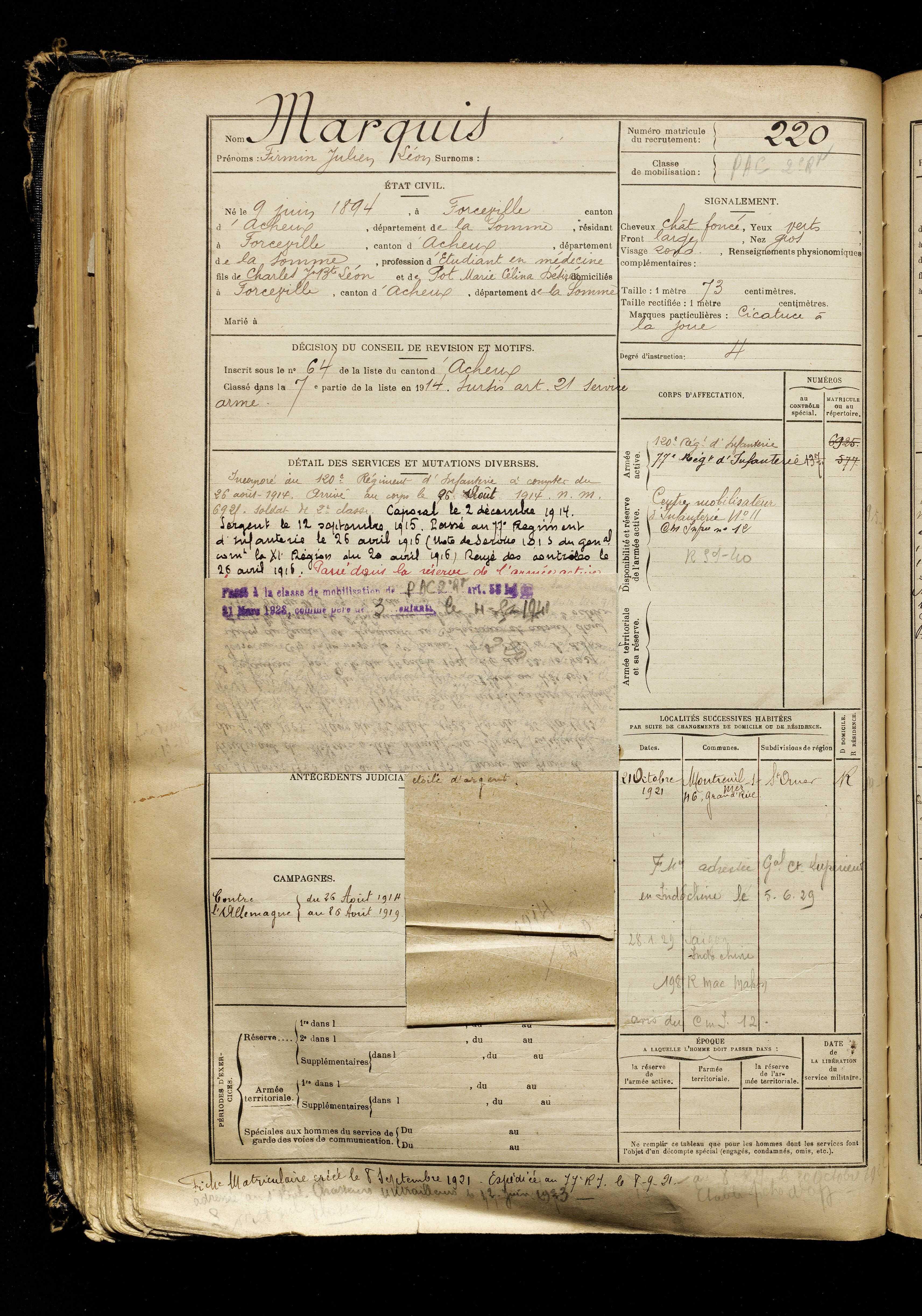 Site : Archives départementales de la Somme