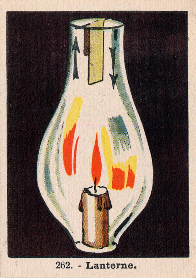 Chocolat Magniez-Baussart, Amiens. Image 262 : lanterne