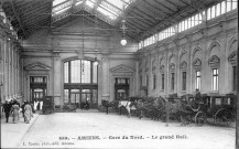 Amiens. Gare du Nord. Le Grand Hall