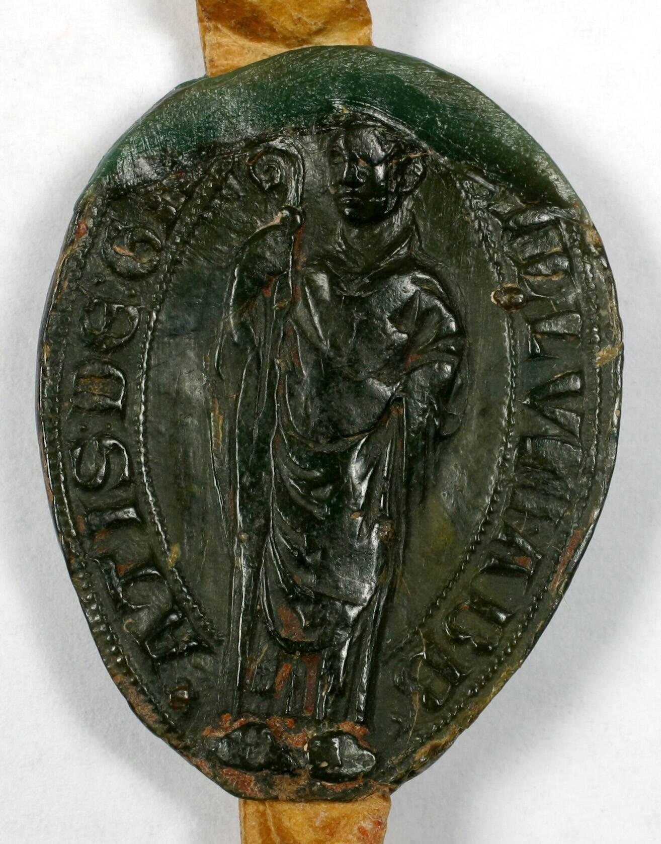 Sceau - L'abbé du Gard
