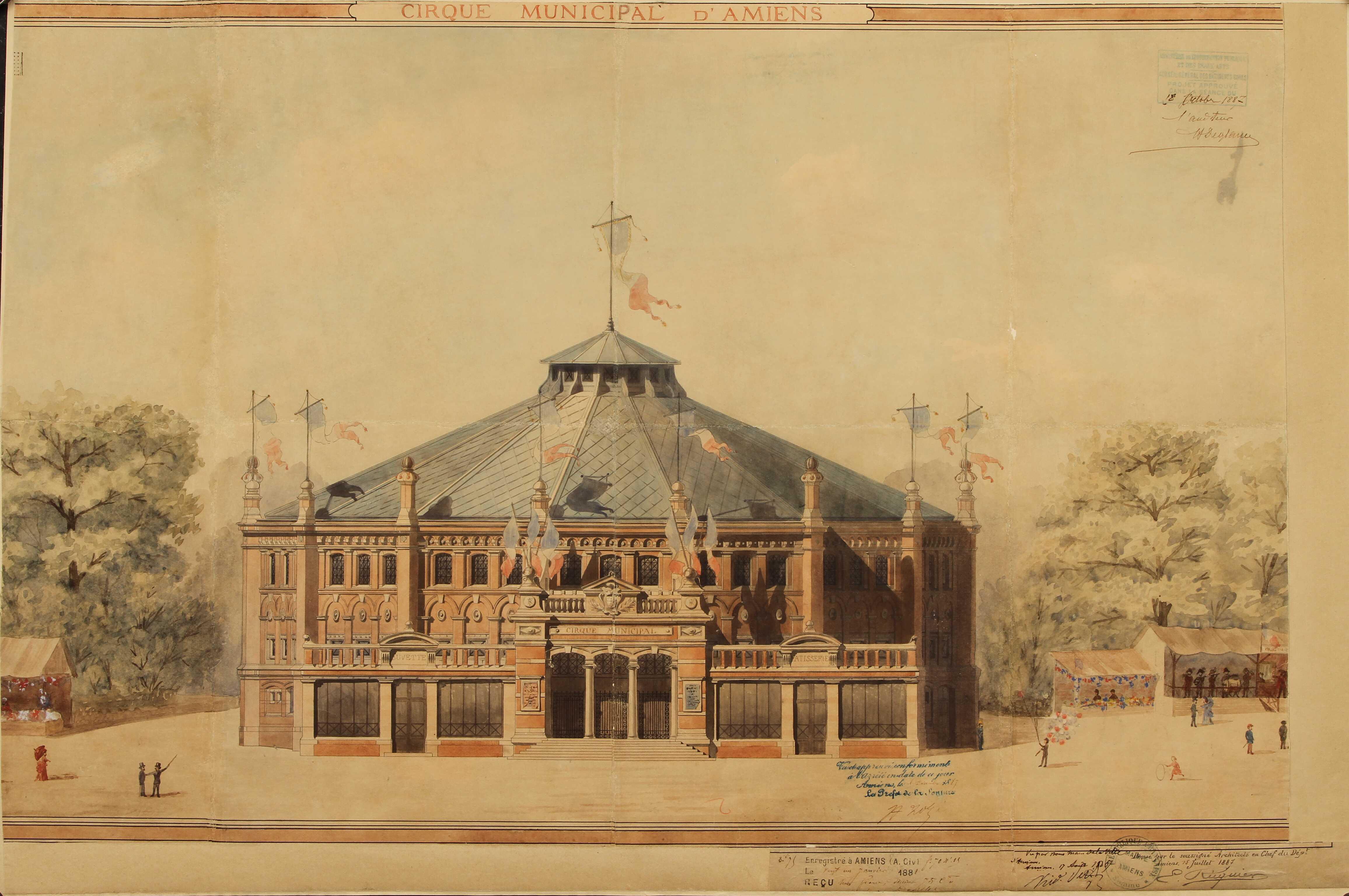 Cirque municipal d'Amiens