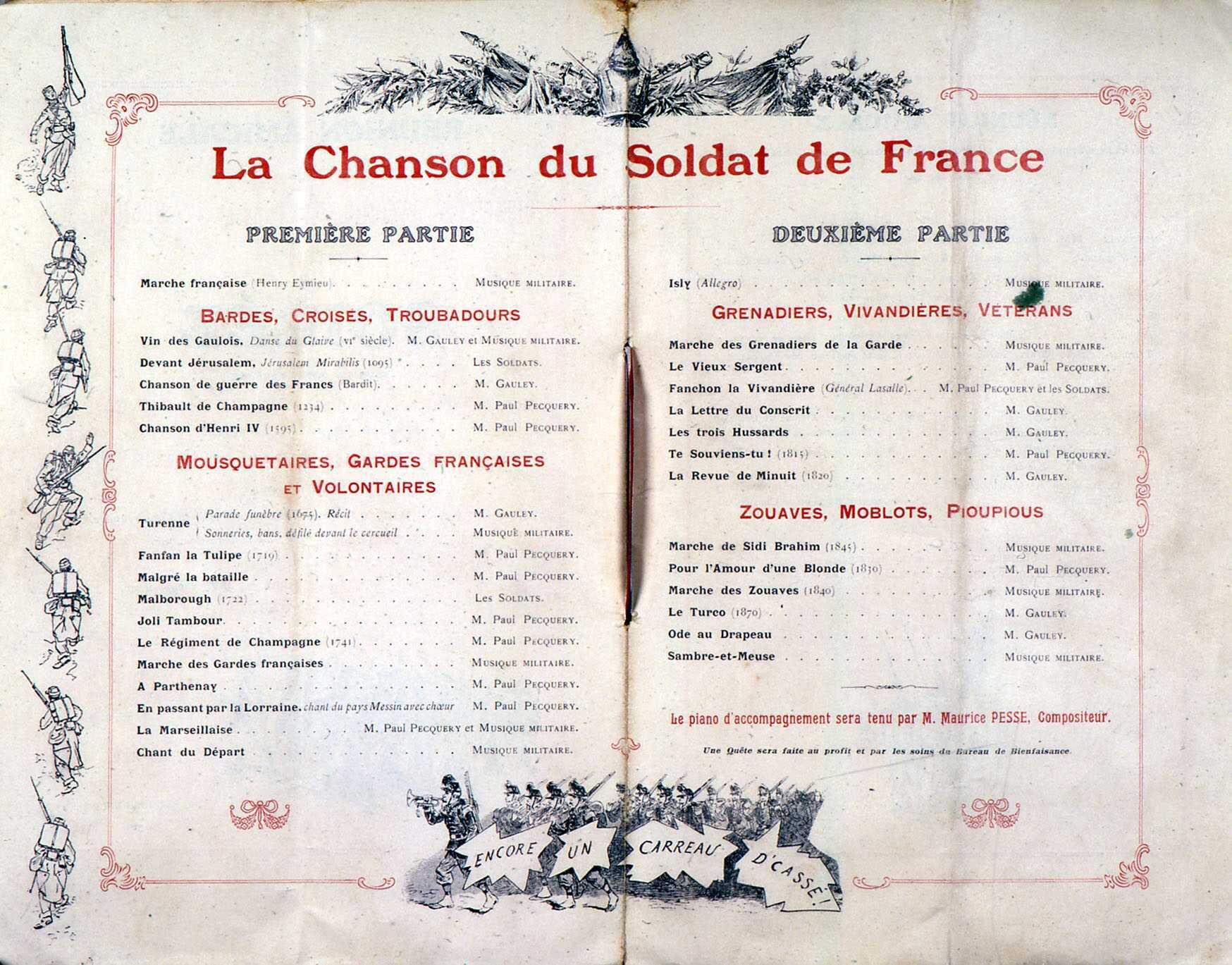 La chanson du Soldat de France