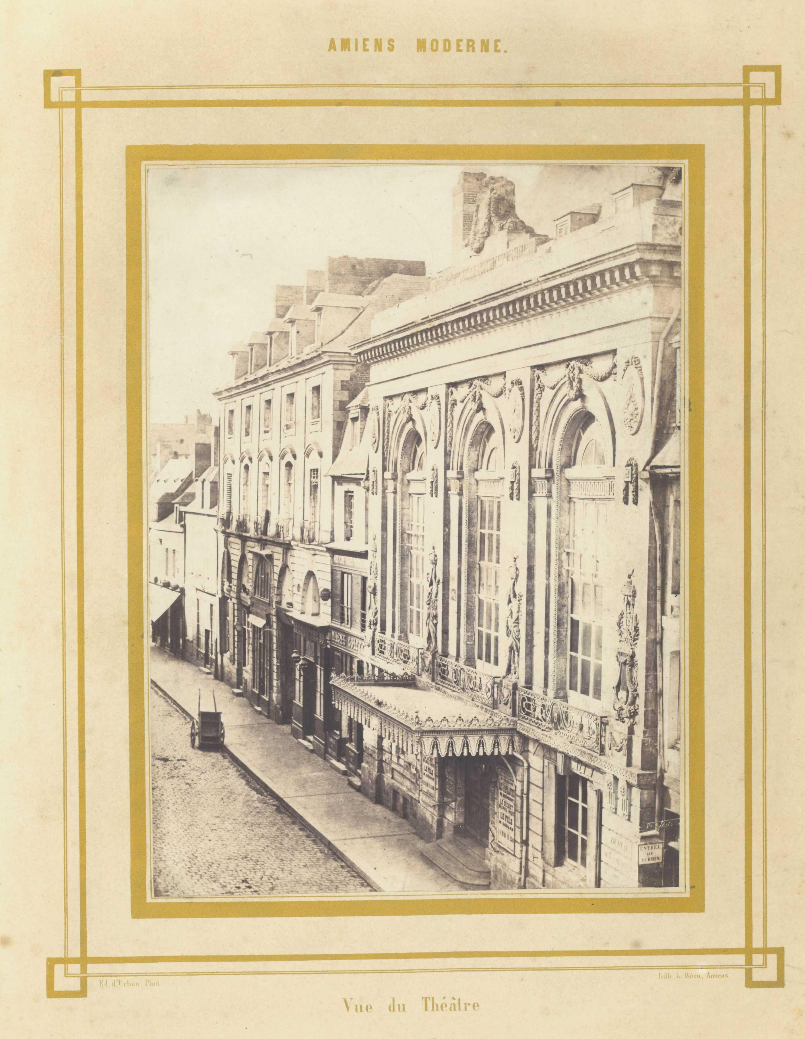 Amiens Moderne. Vue du Théâtre
